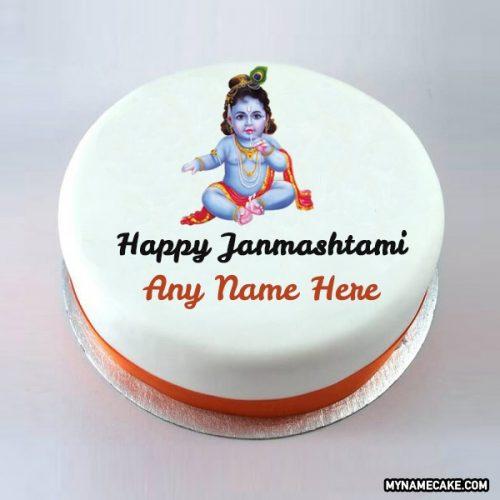 Happy Janmashtami cake