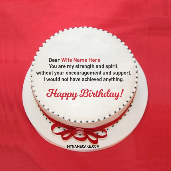 Pleasant Write Name On Wife Birthday Cake With Message My Name Cake Funny Birthday Cards Online Eattedamsfinfo